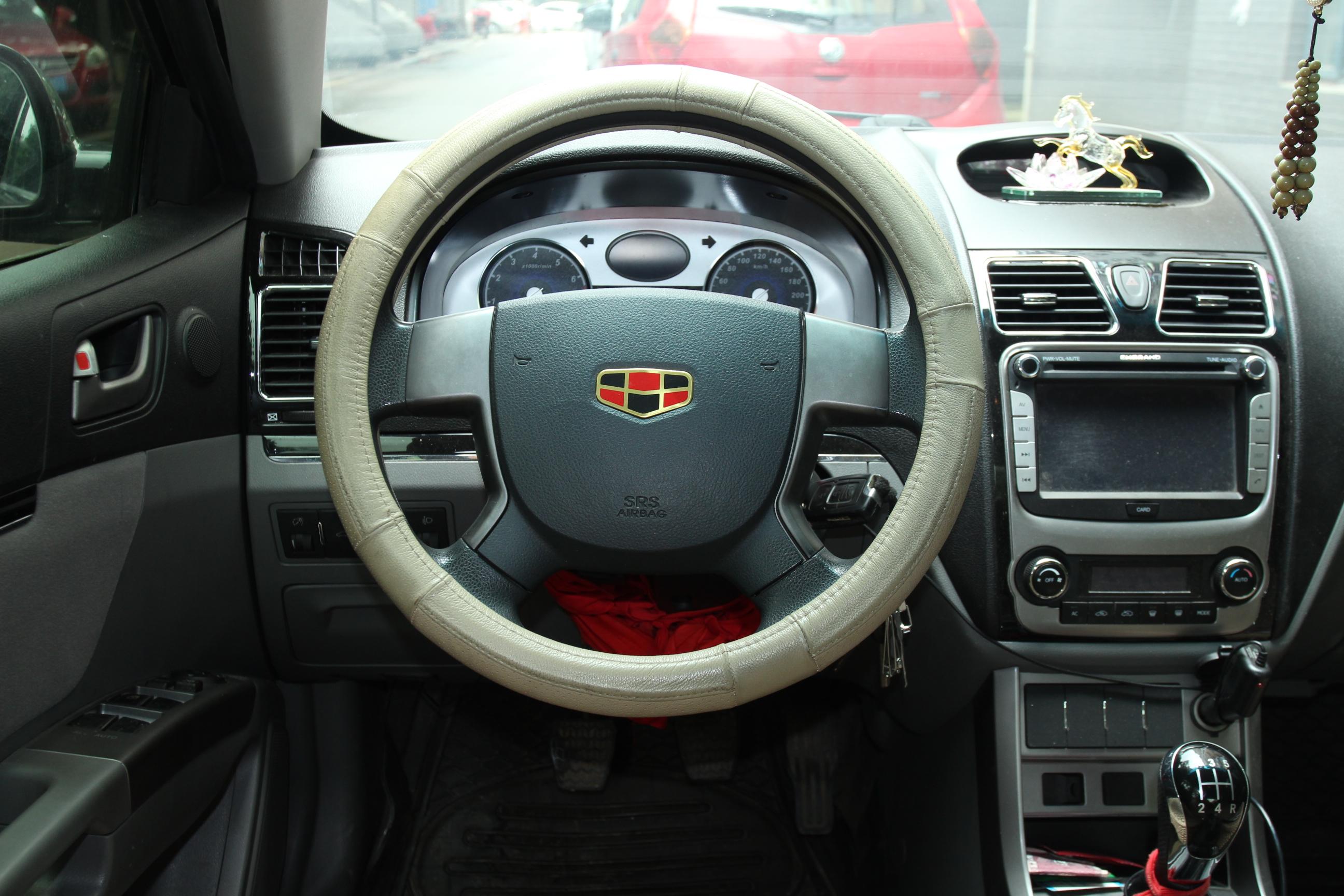 帝豪汽车内部按钮图解