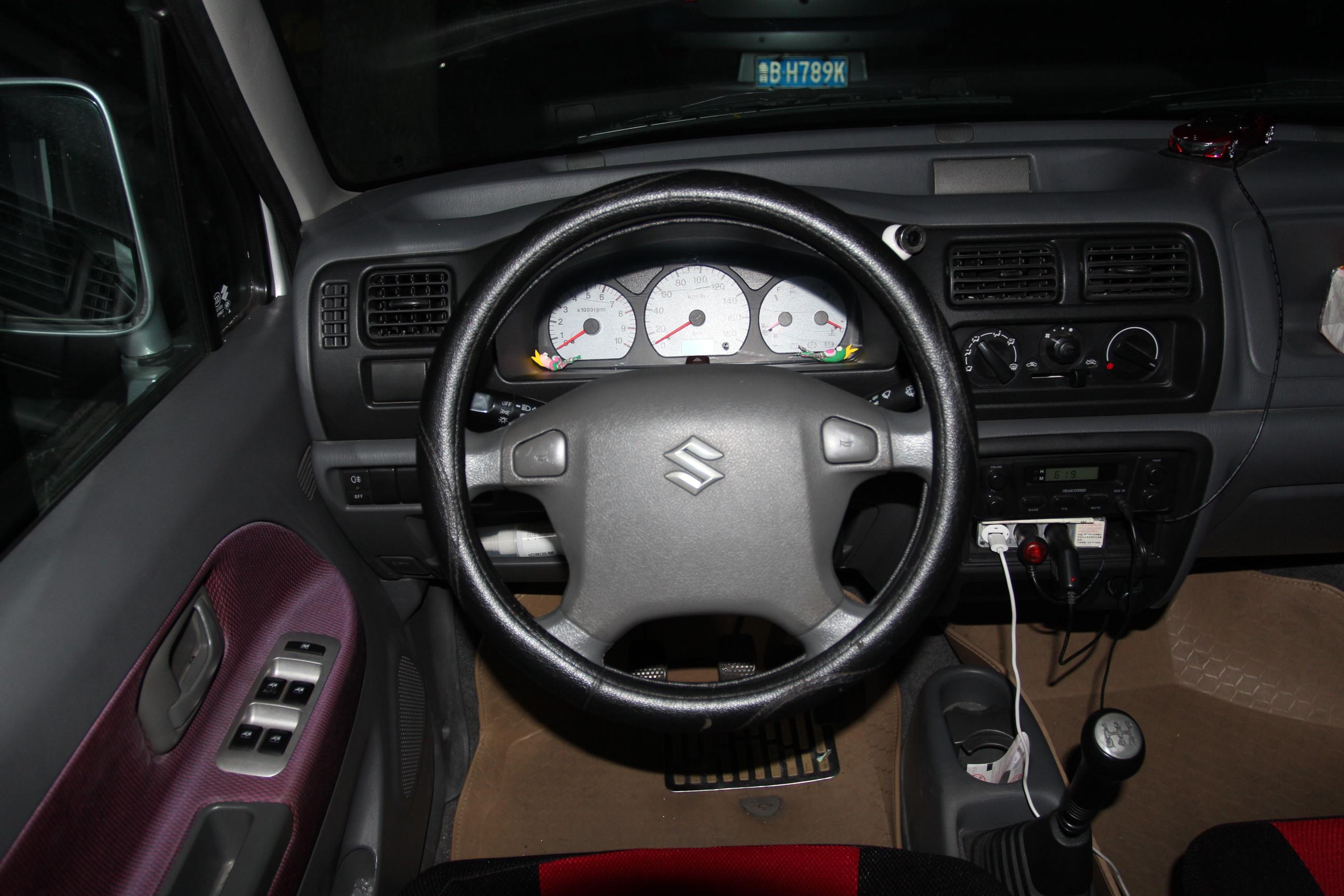 铃木-北斗星 2013款 创业版 1.0l 手动舒适型