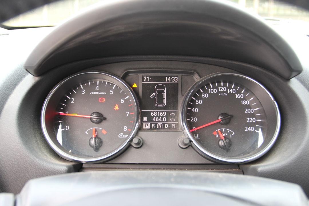 仪表指示灯,刹车,电子设备无异常.