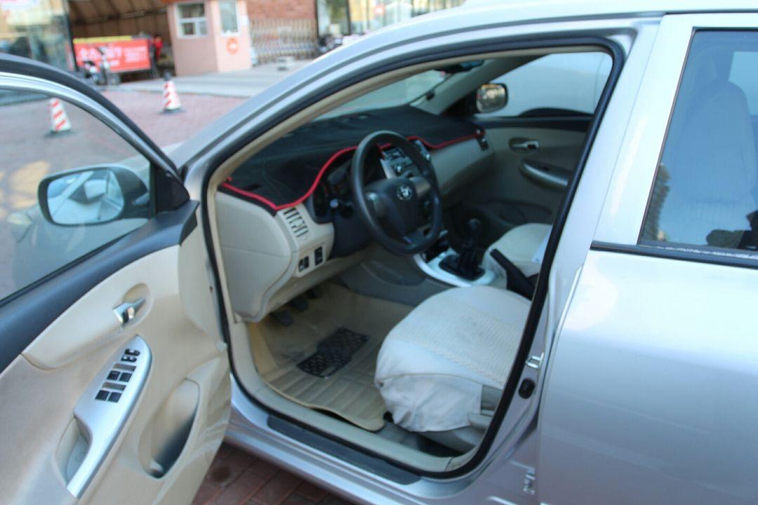 丰田-卡罗拉 2011款 1.6l