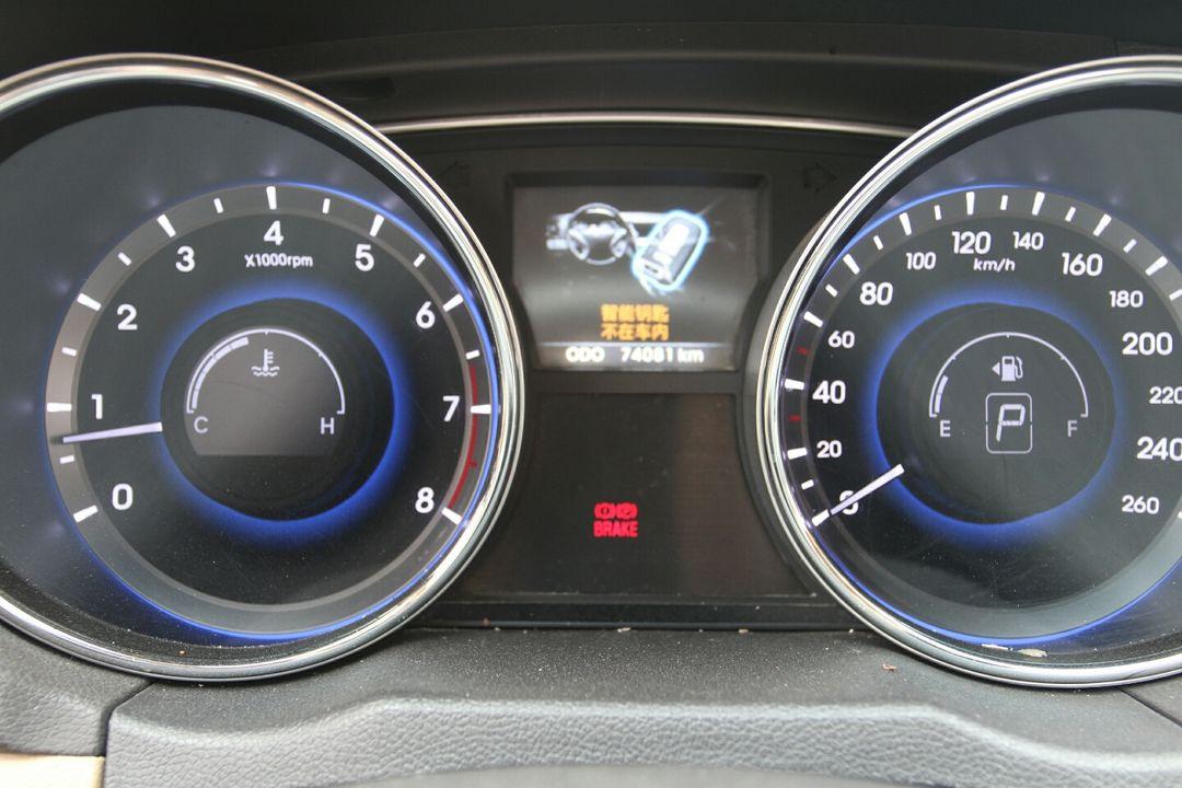 零三款索纳塔空调控制电路图
