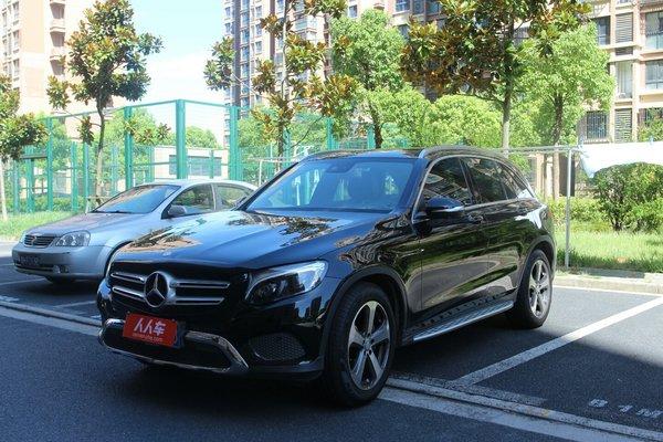 北京二手车奔驰奔驰出售glc奔驰-glc2016款glc3004matic轮胎瑞鹰能改多大动感图片