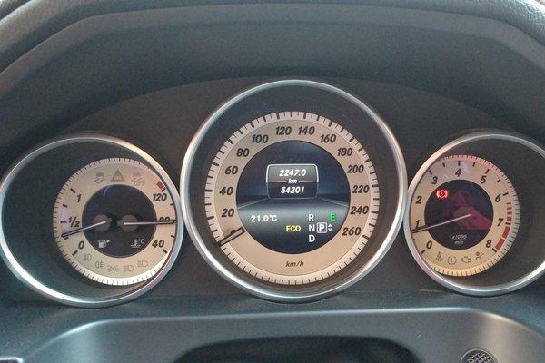 奔驰-e级 2015款 180 l 运动型 发布时间:2018-02-10 17:30:55  仪表图片