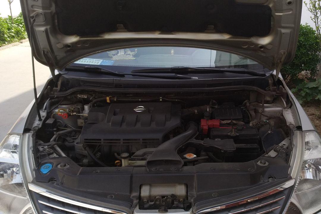 日产-颐达 2006款 1.6je mt(改装天然气)