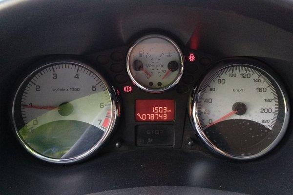 标致车仪表盘指示灯图解