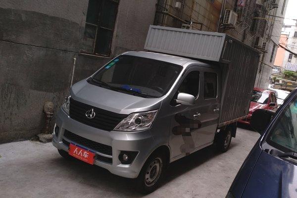 长安原浆-长安星卡2017款1.5l4×2双排微卡7年中国龙商用图片