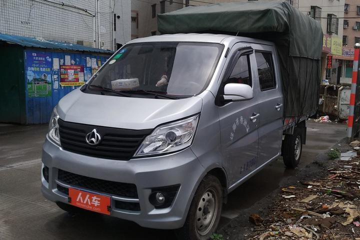 珠海8-10万公里二手长安星卡报价_最新珠海长安星红色英朗提车作业卡车图片