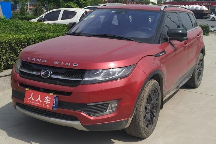 邯郸二手陆风-x7 2015款 2.0t 全景旗舰版