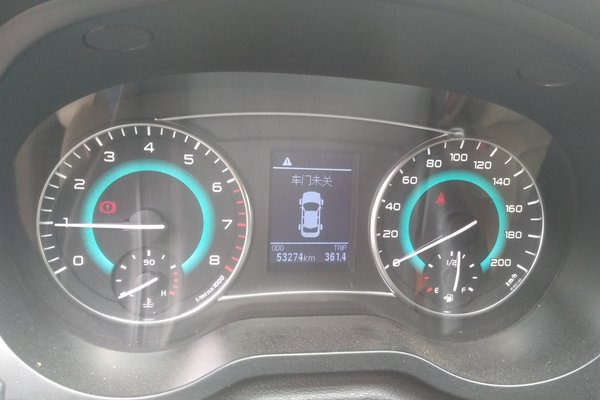 5l 手动舒适型 发布时间:2018-08-12 18:42:21  仪表盘 :   表显行驶