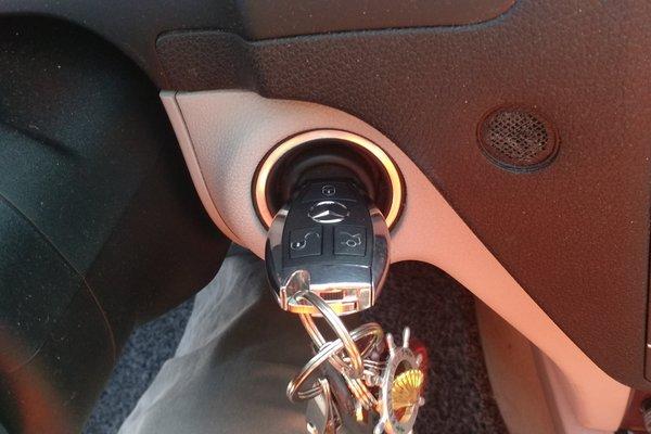 奔驰c仪表盘指示灯图解