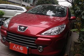 杭州二手標致-307 2010款 三廂 1.6L 自動舒適版