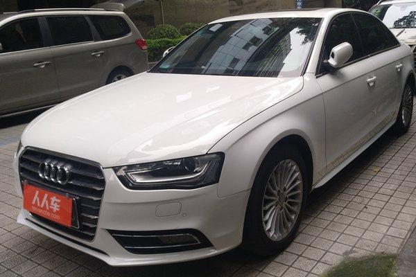 广州二手奥迪a4l 2013款 35 tfsi 自动豪华型