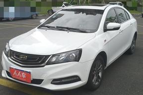 寧波二手吉利汽車-帝豪 2017款 三廂百萬款 1.3T CVT尊貴型