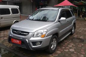 牡丹江二手起亞-獅跑 2009款 2.0L 手動四驅版GLS