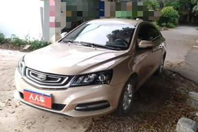 桂林二手吉利汽車-帝豪 2017款 三廂百萬款 1.5L 手動豪華型