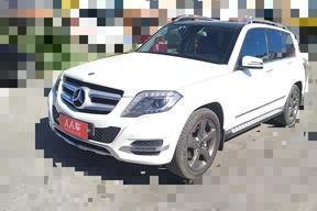 通遼二手奔馳-奔馳GLK級 2013款 GLK 300 4MATIC 豪華型