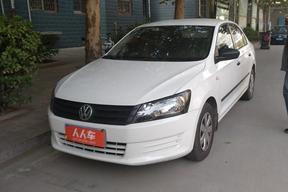 石家莊二手大眾-大眾桑塔納2015款1.6手動出租車版原廠CNG