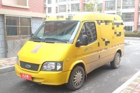 青島二手福特-經典全順 2013款 2.8T改款柴油廂式運輸車短軸中頂JX493ZLQ4