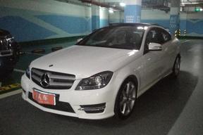 深圳二手奔馳-奔馳C級(進口) 2013款 C 180 轎跑版