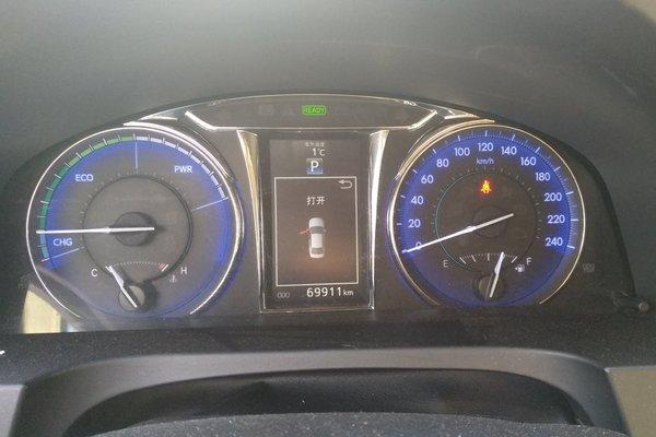 丰田车仪表盘指示灯图解