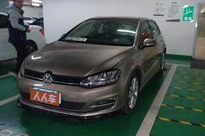 北京二手大眾-高爾夫 2015款 1.4TSI 自動旗艦型
